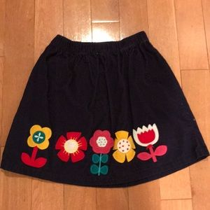 Hanna Andersson size 140 Cord skirt